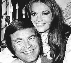 Robert Wagner and his former wife, actress Natalie Wood