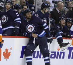 Jets GM Kevin Cheveldayoff says the club's current roster has earned the right make a push for the post-season.