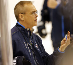 'We're two really young teams that have to learn the hard lessons,' Paul Maurice said today.