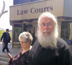 JAMES TURNER / WINNIPEG FREE PRESS ARCHIVES Seraphim (Kenneth) Storheim appeared in Winnipeg court last month.