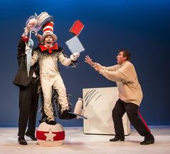 """It is fun to have fun, but you have to know how."" The Cat in the Hat runs at MTYP until Dec. 21."