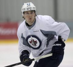 Mark Scheifele has spent the summer training with ex-NHLer Gary Roberts.