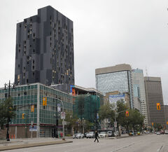 The high-profile project at 311 Portage is key to downtown's redevelopment.