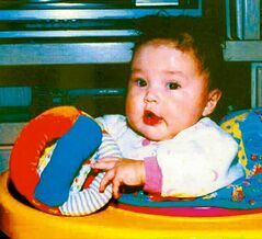 Phoenix Sinclair is seen as a baby in photo submitted at the inquiry.