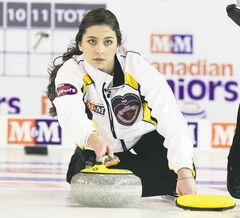 Skip Shannon Birchard is excited about learning from the more experienced teams at the Scotties.
