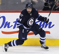 Jets defenceman Zach Bogosian