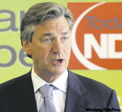 Gary Doer: Will he  or won't he?