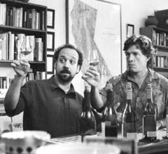 Paul Giamatti, left, and Thomas Haden Church in Sideways, Alexander Payne's 2004 movie that cast a pall on Merlot sales.