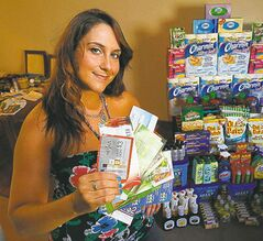 Terri Makowski is an extreme couponer.