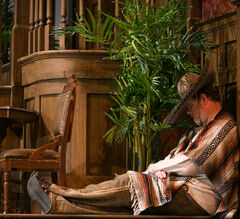 Doug Speirs' portrayal of the Sleeping Cowboy in Don Pasquale is not to be missed.