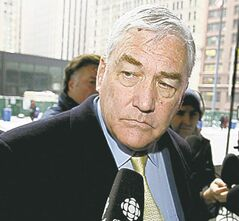 Conrad Black has been granted a one-year temporary resident permit.