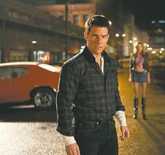 British author Lee Child conceived his action hero Jack Reacher (here played by Tom Cruise) as a modern-day knight-errant wandering the country righting wrongs, with few if any personal connections or possessions to slow him down.