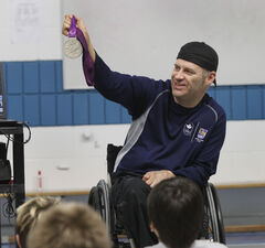 Ad like a 'spit in the face' to Paralympian Jared Funk.