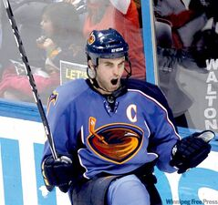 Thrashers captain Andrew Ladd becomes a restricted free agent on July 1. Winnipeg management is eager to re-sign him.