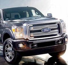Ford's latest bruiser in a tux, the Super Duty Platinum, can easily cost more than $60,000 -- twice the price of a base Super Duty.