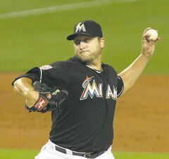 Mark Buehrle signed a four-year, $58-million deal with the Marlins last year but was unceremoniously dealt to Toronto after only  one season  in Florida.