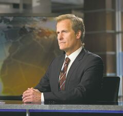 Jeff Daniels returns as news anchor Will McAvoy in Season 2 of The Newsroom.