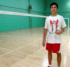 Felix Tessier,15, won two golds and one silver medal in the U19 classifications at the recent City Junior Open.