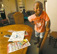 Ben Mulimbwa, 4, can't wait to start preschool, but not all new Canadians are as stress-free heading to class.