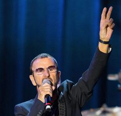 Musician Ringo Starr performs on Monday, Jan. 20, 2014, in Los Angeles. THE CANADIAN PRESS/AP, Paul A. Hebert/Invision