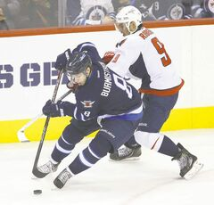 Alexander Burmistrov and the Winnipeg Jets looked far from potent in a loss to Washington Saturday, but Burmi and Co. have plenty of games remaining to get the job done.