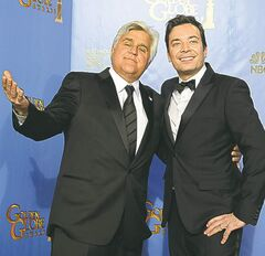 Will Fallon (right) replace Leno?