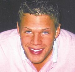 The body of Chad Davis was found in a barrel in the Lee River on July 23, 2008.