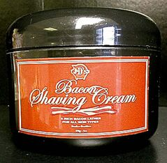 Bacon Shaving Cream  closecut close cut