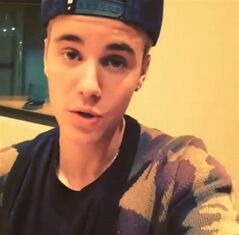 Justin Bieber is pictured in a promotional video posted to his Instagram account dated Wed. Jan. 29, 2013. Toronto police say pop star Justin Bieber did not film a video promoting his music while in their custody. THE CANADIAN PRESS/HO, Instagram