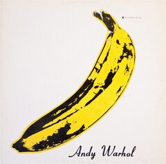This photo provided by Cranbrook Art Museum shows the cover of a 1967 Andy Warhol-designed album called