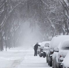 Dig out your shovel: Old Man Winter is about to make an appearance.