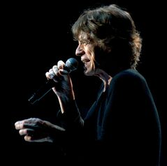 Mick Jagger of the Rolling Stones performs Friday, June 21, 2013, at the Wells Fargo Center in Philadelphia, Pa. (AP Photo/The Key West Citizen, Rob O�Neal)