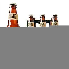 This undated publicity photo provided by the Great Divide Brewing Company shows a bottle, left, and six-pack of Colette Farmhouse Ale. (AP Photo/Great Divide Brewing Company)