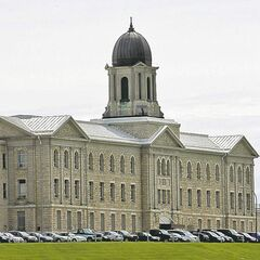 Stony Mountain Penitentiary.