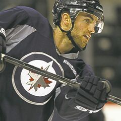 Andrew Ladd: half a practice