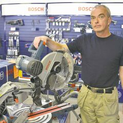 If you�re going to buy a chop saw, Ben McArthur of Canadian WoodWorker recommends spending the extra money to buy a Bosch 10-inch or 12-inch machine that is deadly accurate on 90-degree cuts, as well as bevels and mitres.
