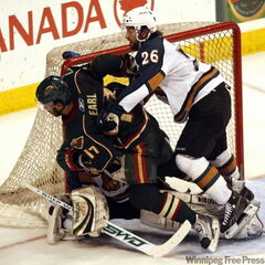 The Manitoba Moose beat Houston Aeros 3-1 on Monday night, bouncing the Aeros from the AHL playoffs.