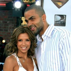 Eva Longoria with Tony Parker