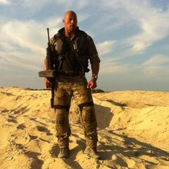 Dwayne 'The Rock' Johnson in 'G.I. Joe: Retaliation'