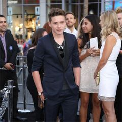 Brooklyn Beckham at the If I Stay premiere in Hollywood