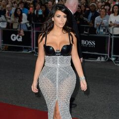Kim Kardashian West at the GQ Awards