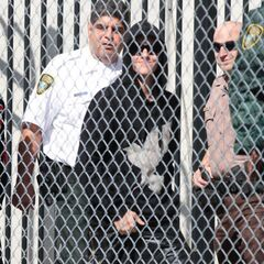 Justin Bieber leaving jail in Miami