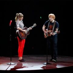 Taylor Swift and Ed Sheeran are at Investors Group Field June 22.