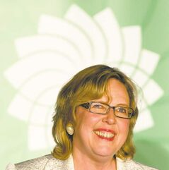 Green Party leader Elizabeth May is proving that MPs need not be 'nobodies' as soon as they leave Parliament Hill.
