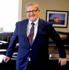 Lloyd Axworthy, president and vice-chancellor of the University of Winnipeg.