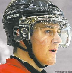 Canada's forward Mark Scheifele.