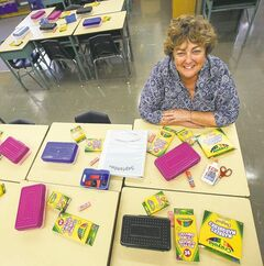 Carpathia Elementary School principal Holly Mackie takes advantage of a school's buying power to get better prices.