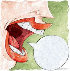 Motormouths can talk their way out of  career  advancement