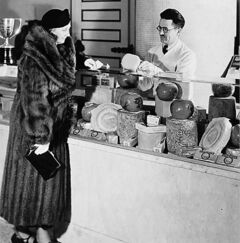 You could get everything at The Bay back in its heyday � including fancy cheeses.