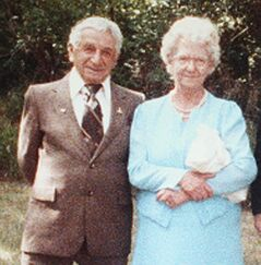 Harry Garabed (left), with his wife Jean, moved to Canada after surviving the Armenian Genocide.